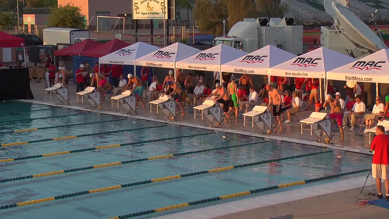 Men's 100m Freestyle D Final - 2013 Arena Mesa Grand Prix