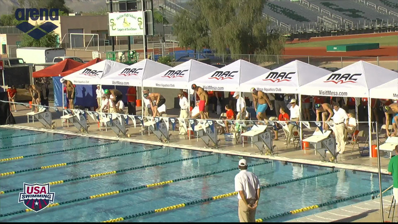 Men's 200m Butterfly B Final - 2013 Arena Mesa Grand Prix