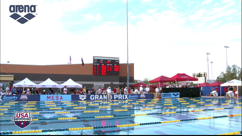 Women's 100m Butterfly A Final - 2013 Arena Mesa Grand Prix