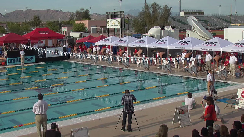 Men's 400m Individual Medley A Final - 2013 Arena Mesa Grand Prix