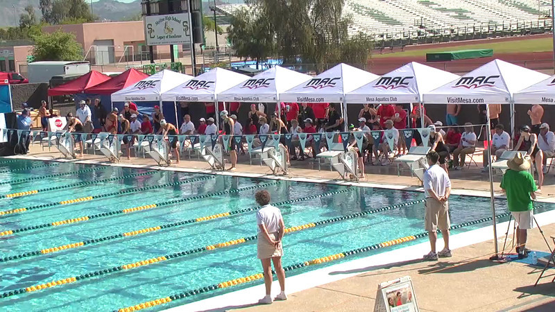 Women's 100m Breaststroke Heat 3 - 2013 Arena Mesa Grand Prix