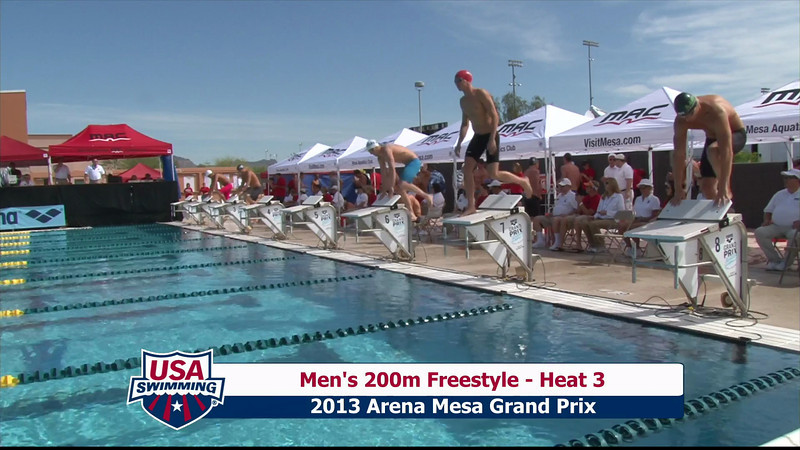 Men's 200m Freestyle Heat 3 - 2013 Arena Mesa Grand Prix