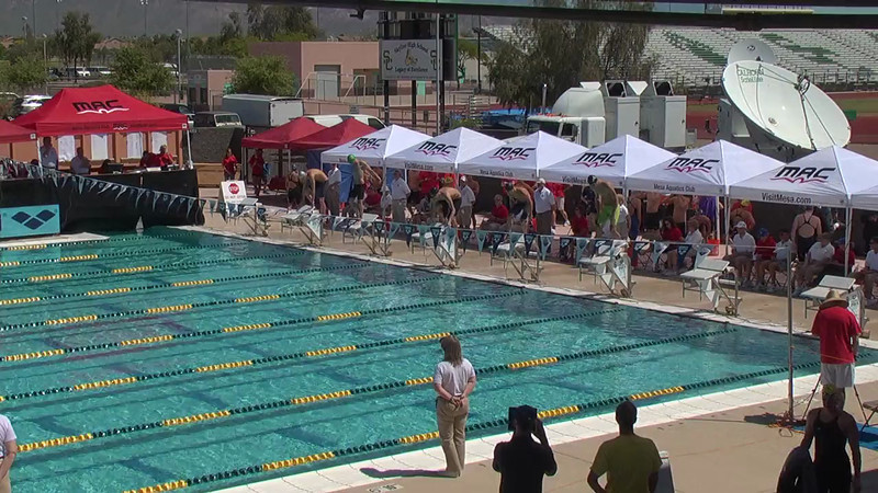 Men's 100m Butterfly Heat 1 - 2013 Arena Mesa Grand Prix