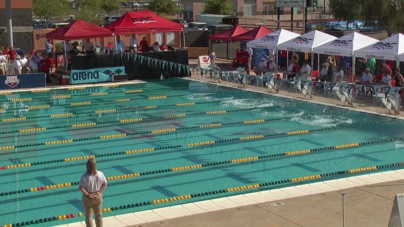 Women's 100m Freestyle Heat 1 - 2013 Arena Mesa Grand Prix