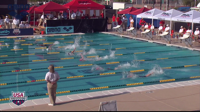 Women's 100m Freestyle B Final - 2013 Arena Mesa Grand Prix