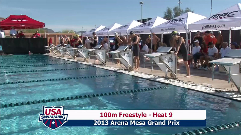 Women's 100m Freestyle Heat 9 - 2013 Arena Mesa Grand Prix
