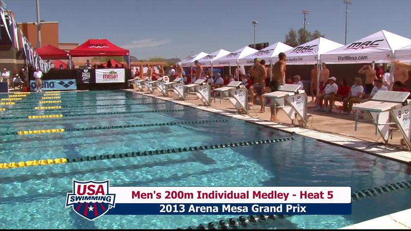 Men's 200m Individual Medley Heat 5 - 2013 Arena Mesa Grand Prix