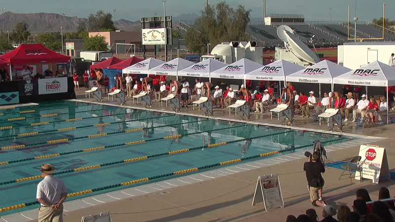Men's 200m Freestyle B Final - 2013 Arena Mesa Grand Prix