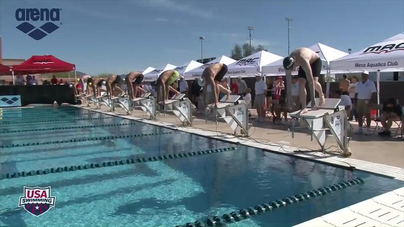 Men's 200m Breaststroke Heat 3 - 2013 Arena Mesa Grand Prix