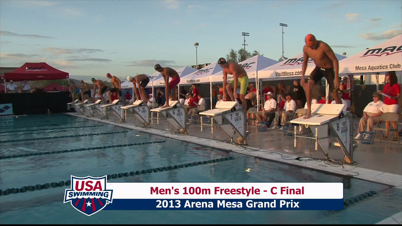 Men's 100m Freestyle C Final - 2013 Arena Mesa Grand Prix