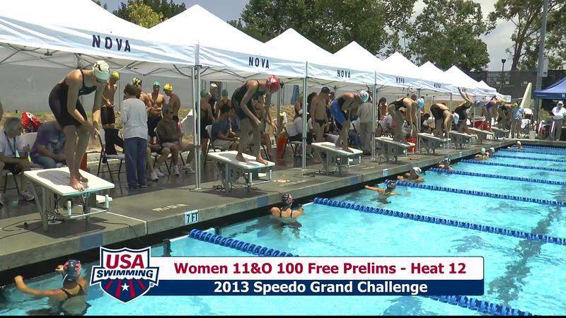 #43 Women 100 Free Heat 15