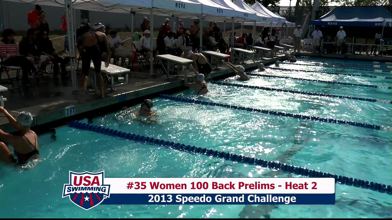 #35 Women 100 Back Heat 2