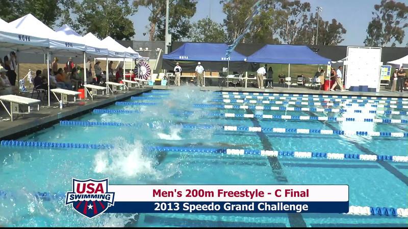 #2 Men 200 Free C Final