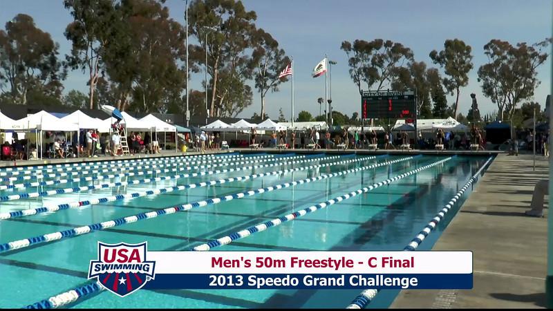 #15 Men 50 Free C Final