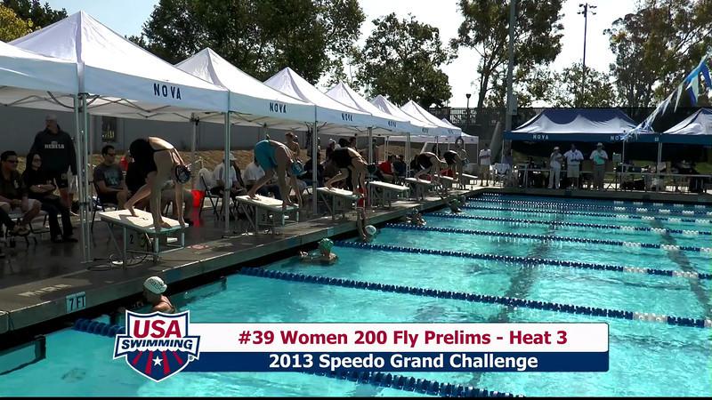 #39 Women 200 Fly Heat 3