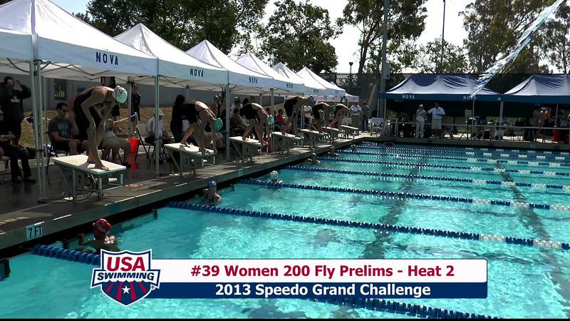 #39 Women 200 Fly Heat 2