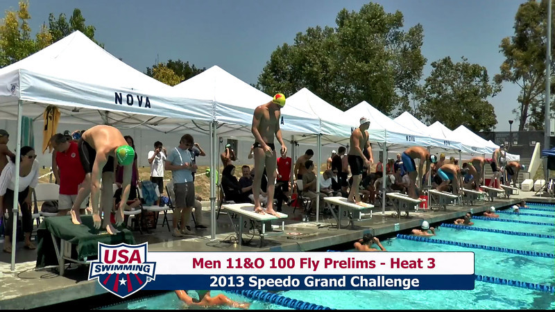 #23 Men 100 Fly Heat 5