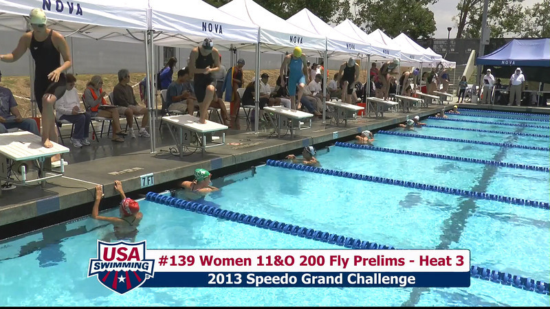 #39 Women 200 Fly Heat 6