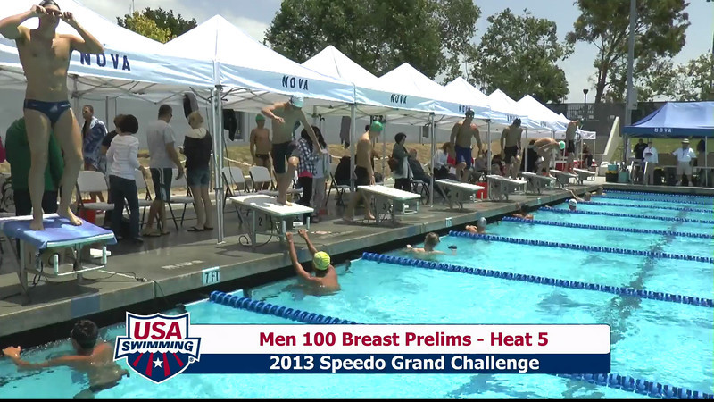 #6 Men 100 Breast Heat 8