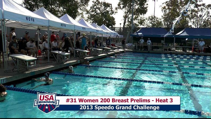 #31 Women 200 Breast Heat 3