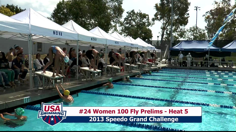 #24 Women 100 Fly Heat 5