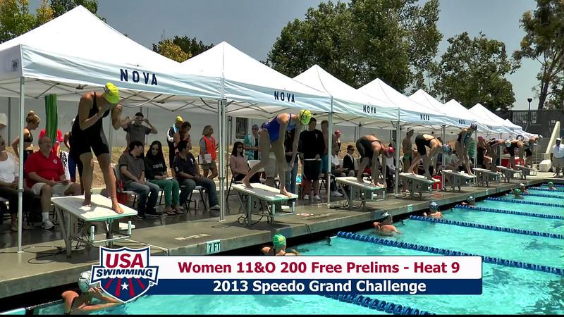 #16 Women 200 Free Heat 12