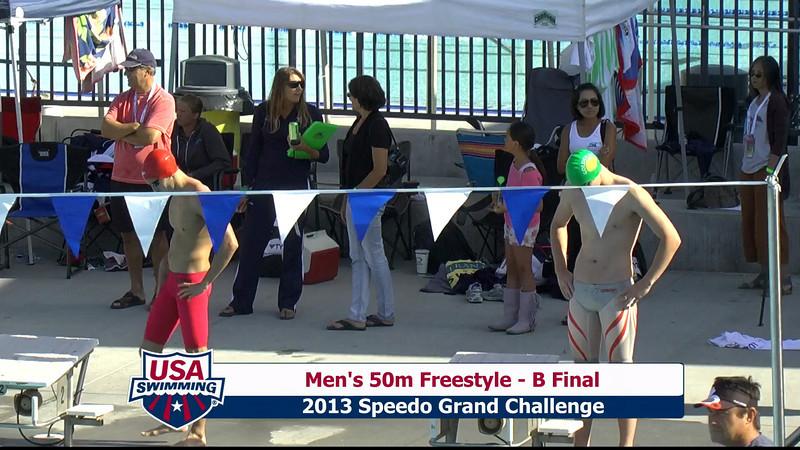 #15 Men 50 Free B Final