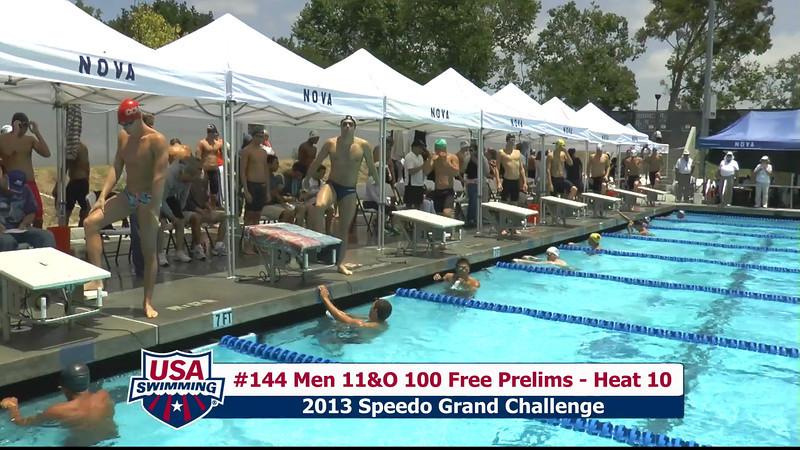 #44 Men 100 Free Heat 12