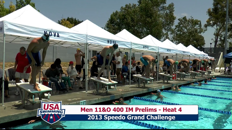 #19 Men 400 IM Heat 8
