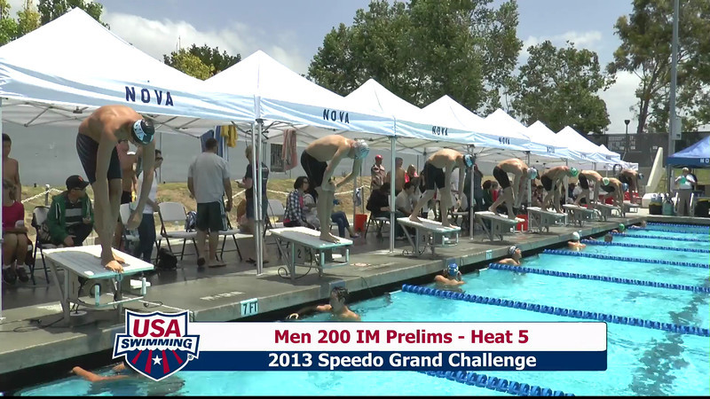 #10 Men 200 IM Heat 8