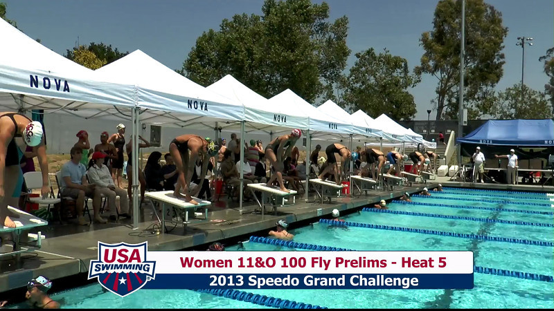 #24 Women 100 Fly Heat 10