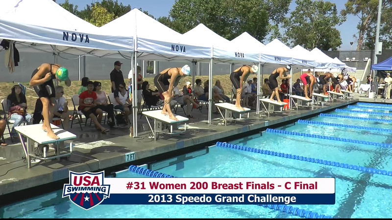 #31 Women 200 Breast C Final