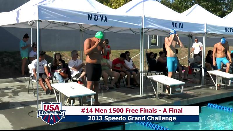 #14 Men 1500 Free A Final