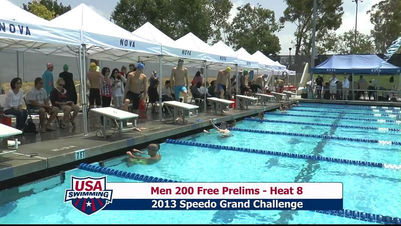 #2 Men 200 Free Heat 11