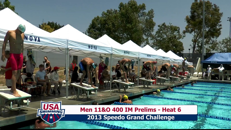 #19 Men 400 IM Heat 10
