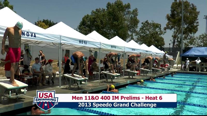 #19 Men 400 IM Heat 10