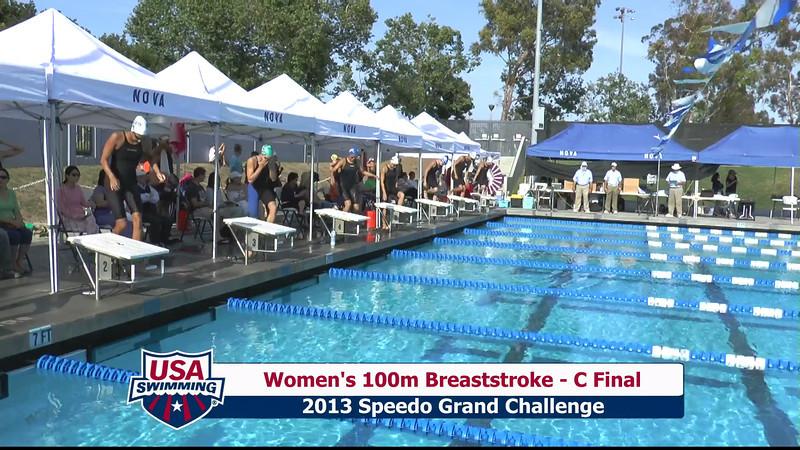 #5 Women 100 Breast C Final