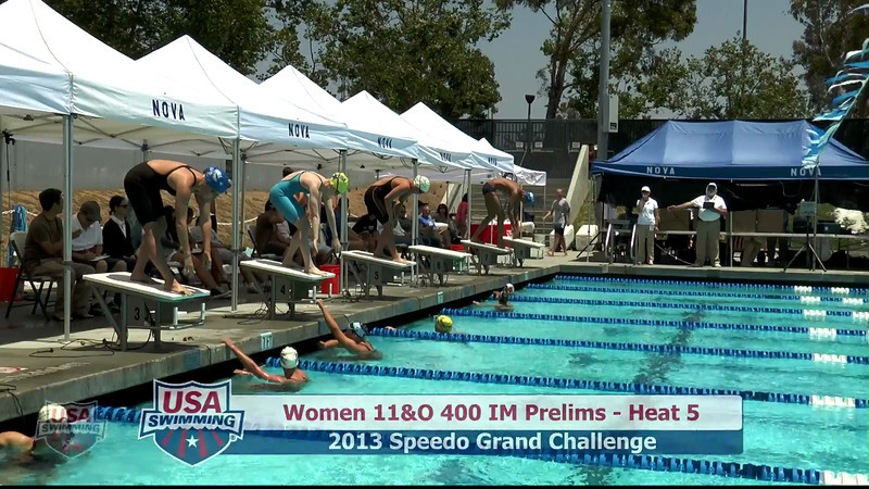 #20 Women 400 IM Heat 9