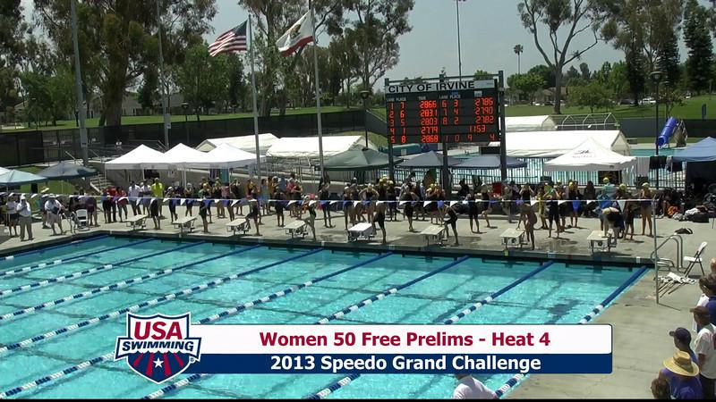 #9 Women 50 Free Heat 7