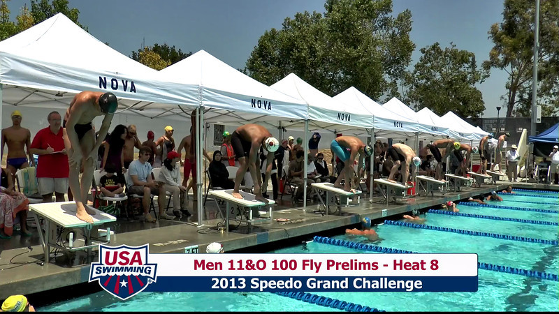 #23 Men 100 Fly Heat 10