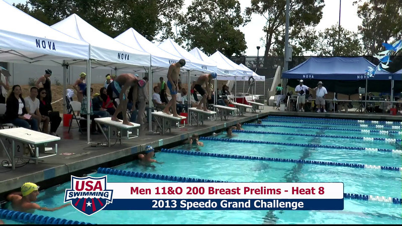 #32 Men 200 Breast Heat 11