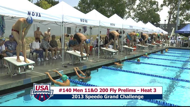 #40 Men 200 Fly Heat 5