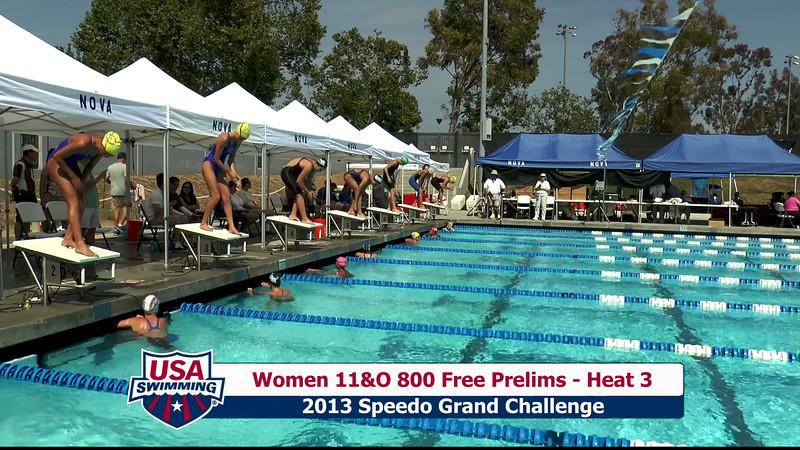 #30 Women 800 Free Heat 6