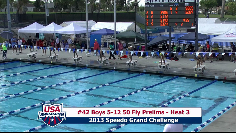 #42 Boys 5-12 50 Fly Heat 3