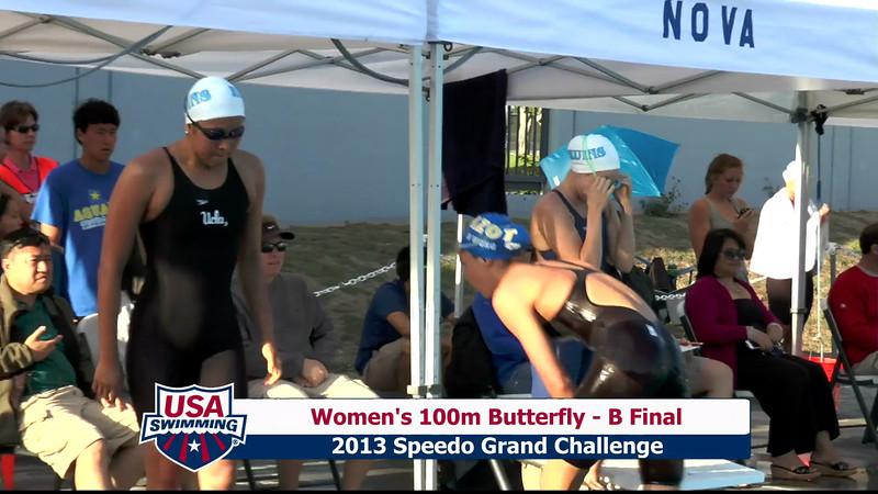 #24 Women 100 Fly B Final