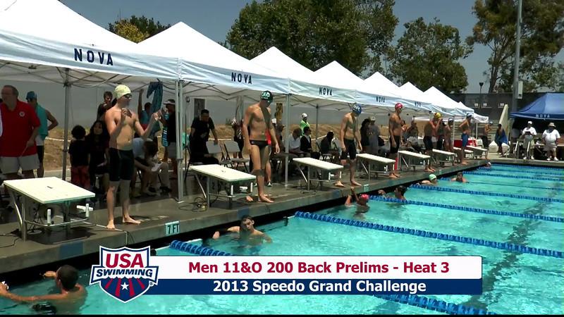 #27 Men 200 Back Heat 7