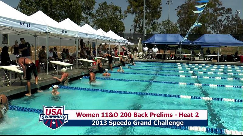 #28 Women 200 Back Heat 6
