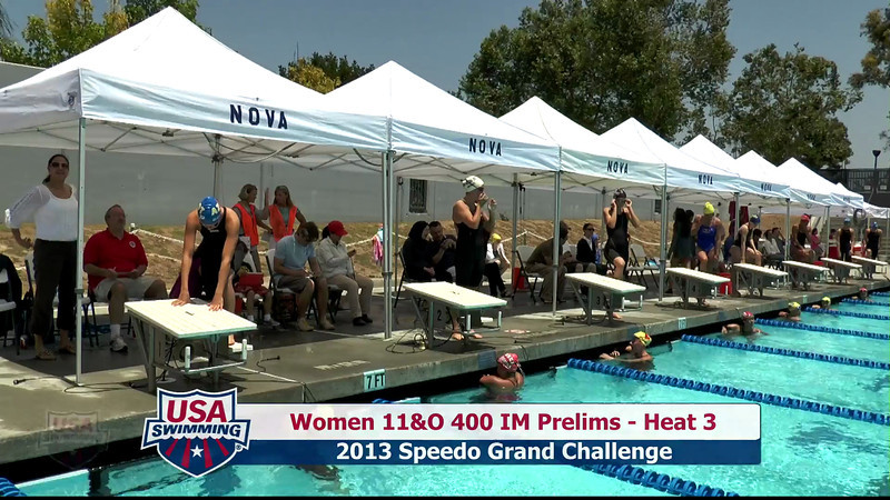 #20 Women 400 IM Heat 7