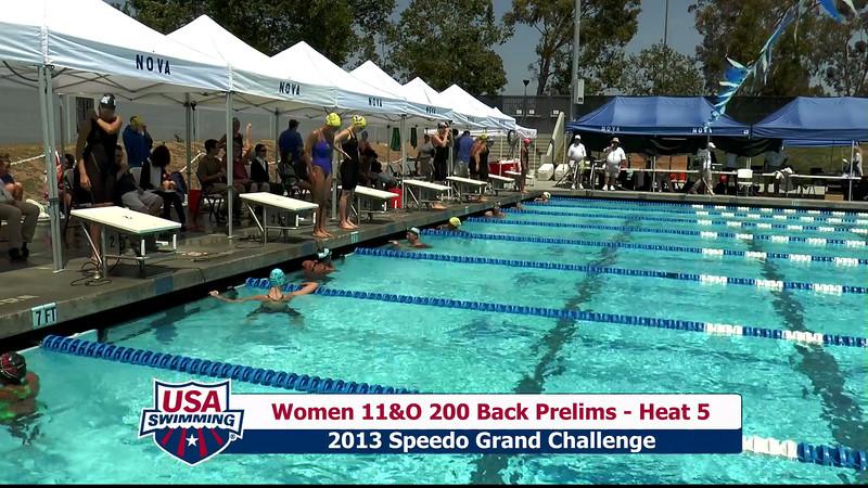 #28 Women 200 Back Heat 9