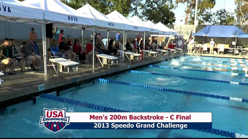 #27 Men 200 Back C Final